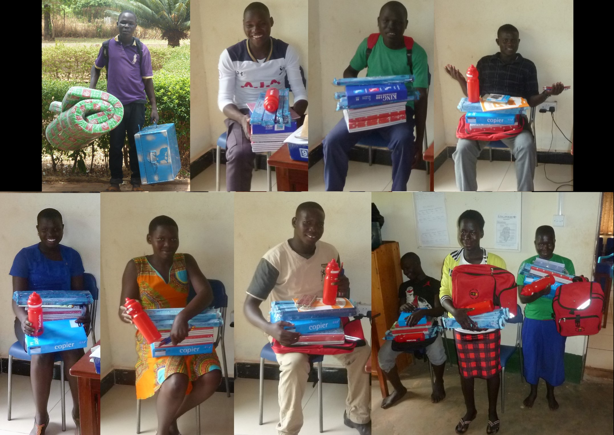 Agape children equipped for school - 2017