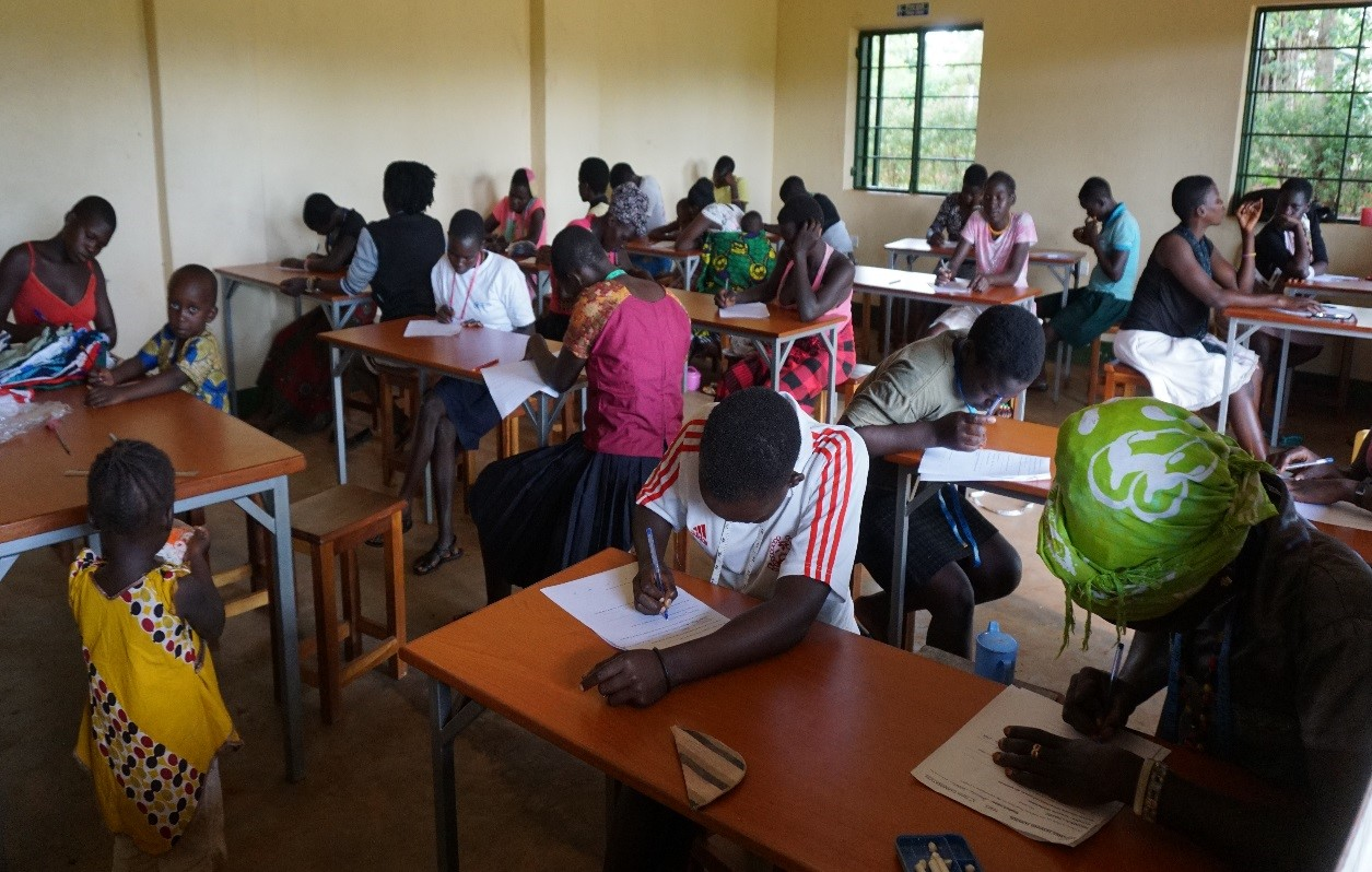Heads down for End of Term Exams